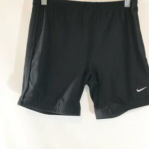 NIKE DRI FIT Shorts Black Stretch Athletic Workout